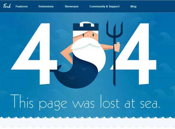 50个国外创意404错误页面设计(3)