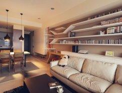 I-CHI现代简洁的家居装修设计