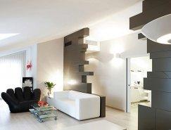 意大利Lucca时尚现代的公寓设计