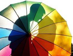 絢麗的彩虹色攝影作品欣賞
