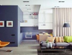 Andrey Sokruta现代家居装修设计
