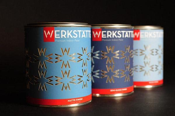 国外创意油漆和涂料包装设计(3)