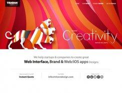 現代簡約的布局理念:國外網頁設計作品欣賞