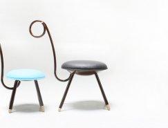 """韩国Monocomplex:有趣的""""猴尾巴""""椅"""