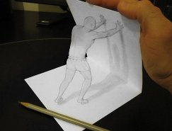 Alessandro Diddi惊人的立体铅笔画