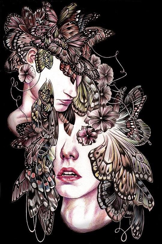 英国插画师Kate Louise Powell作品欣赏