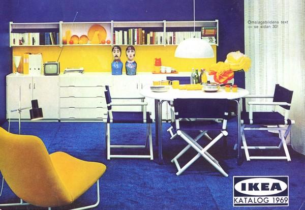 IKEA 1969年产品目录册