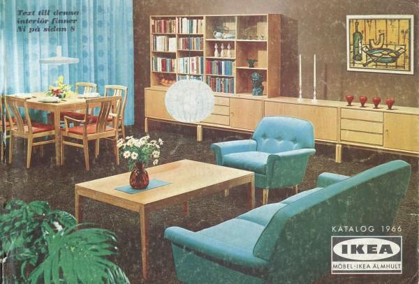 IKEA 1966年产品目录册
