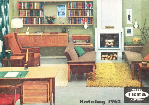 IKEA 1962年产品目录册