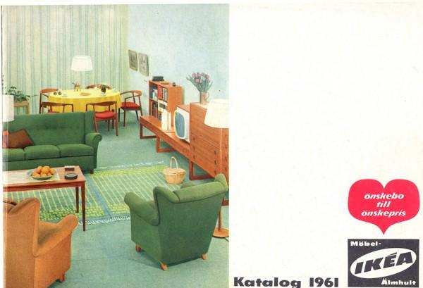 IKEA 1961年产品目录册