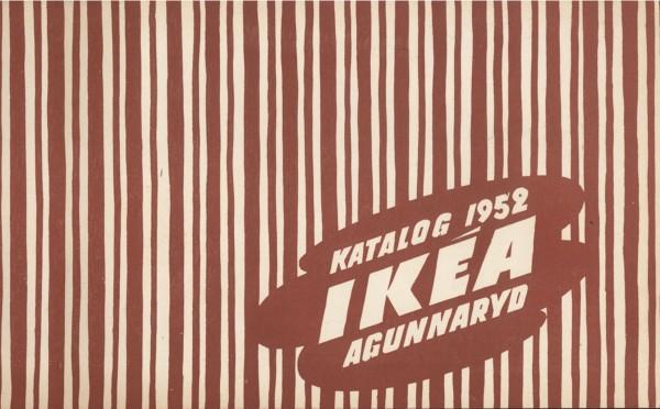 IKEA 1952年产品目录册