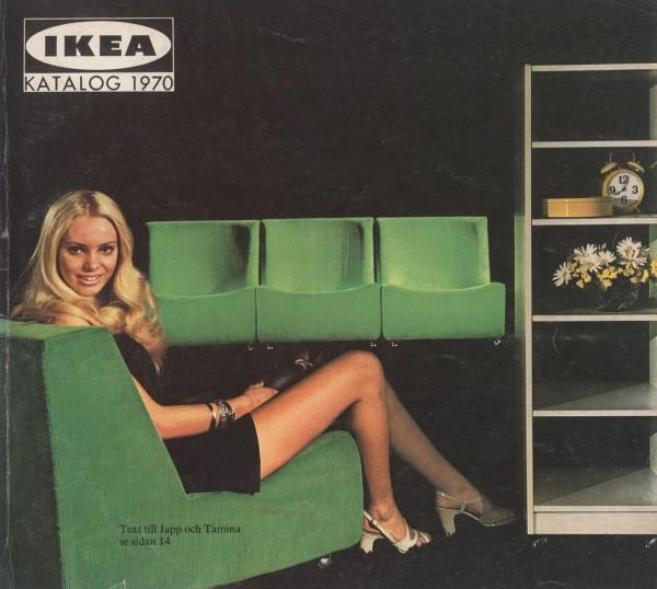 IKEA 1970年产品目录册