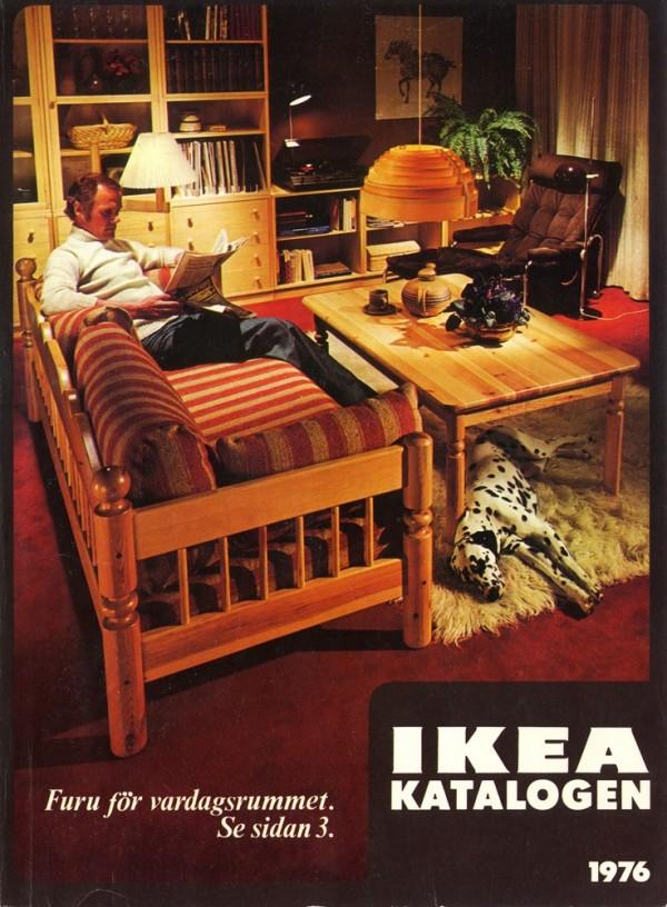 IKEA 1976年产品目录册