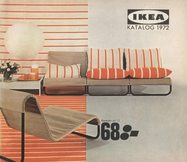 IKEA 1972年产品目录册