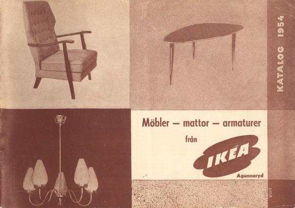 IKEA 1954年产品目录册