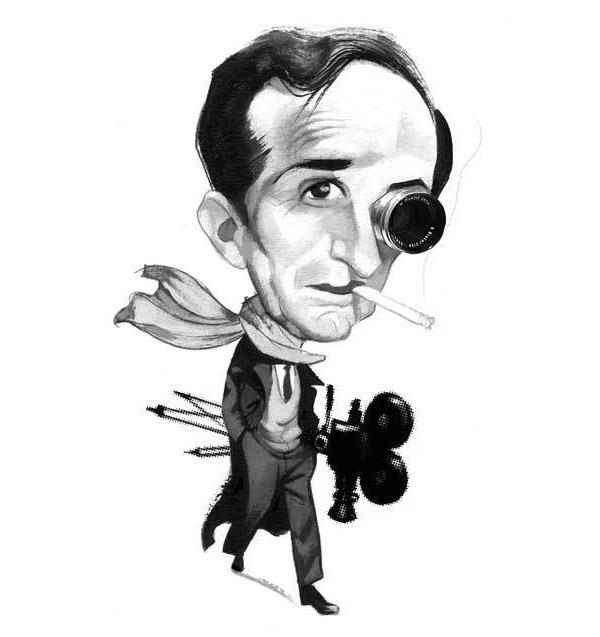 Fernando Vicente人物肖像漫画作品