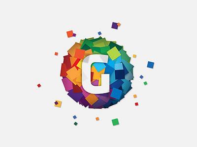 24款优雅和色彩丰富的logo欣赏