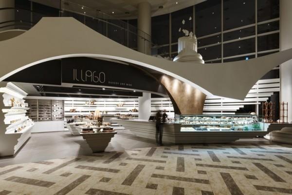 韩国IL LAGO面包店设计