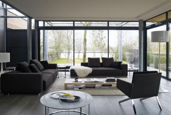 意大利b Amp B現代沙發設計 设计之家