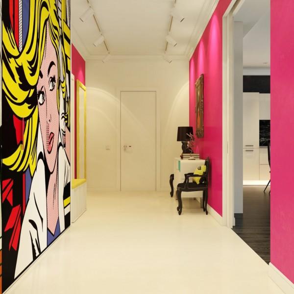 现代波普艺术风格家居装修设计