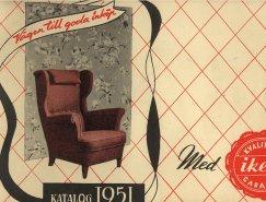 IKEA产品目录册封面365bet(1951-2014)