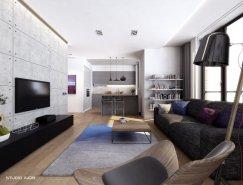现代简约的公寓空间设计