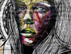 法國藝術家Alexandre Monteiro街頭藝術作品