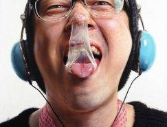 这不是照片:韩国Kang Kang-Hoon超写实人物肖像画作品