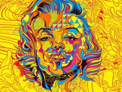 Oliver Santiago多姿多彩的插画作品