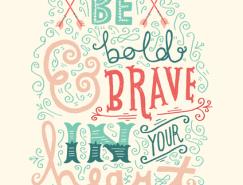 Stephanie Baxter创意字体插画欣赏