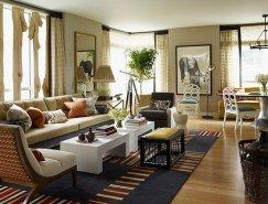 纽约时尚环保的Riverhouse公寓设计