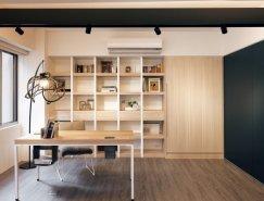 Folk Design:小公寓巧妙变身大空间