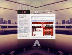 创新和简约的布局:43个国外网站设计欣赏