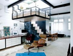 悬浮卧室:小公寓的完美空间利用