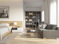 Ly Anh Thi:漂亮的室内装修效果图设计