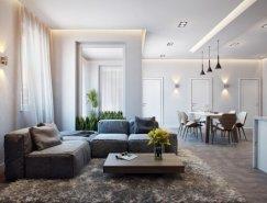 德国现代时尚公寓效果图设计