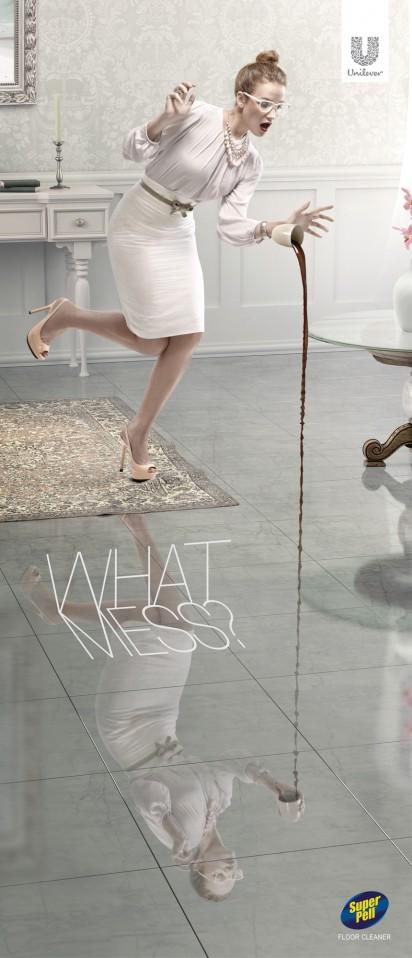 Super Pell地板清洁剂广告