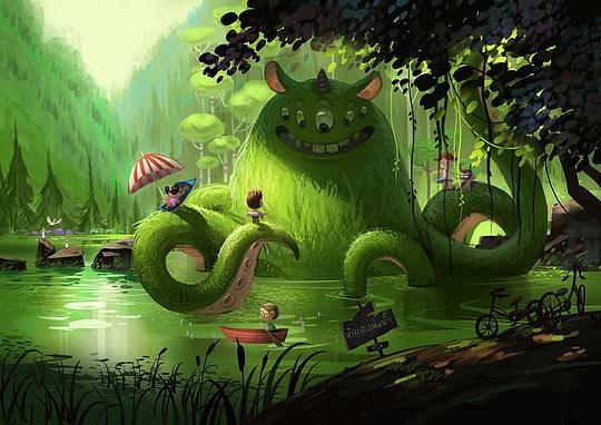 泰国插画师Chaichan Artwichai作品欣赏
