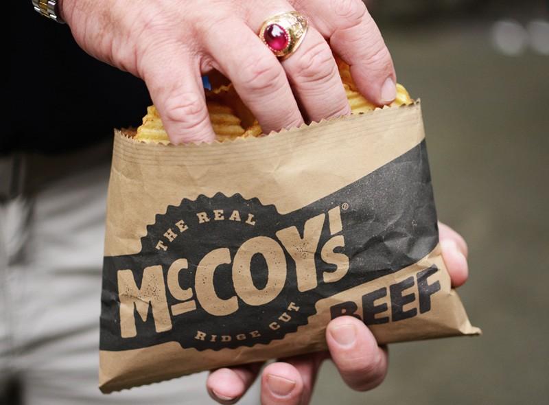 McCoy's薯片包装设计