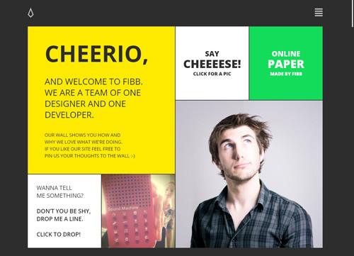 极简主义风格网站设计欣赏