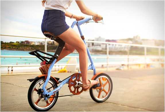 创新设计的Strida 16 LT折叠自行车