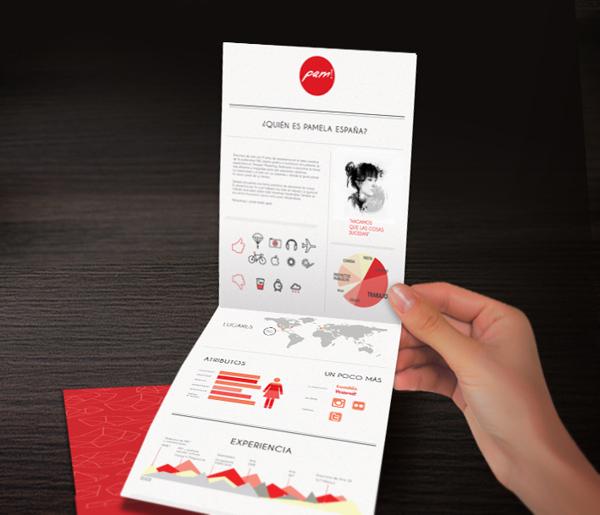 25个国外创意个人简历设计欣赏