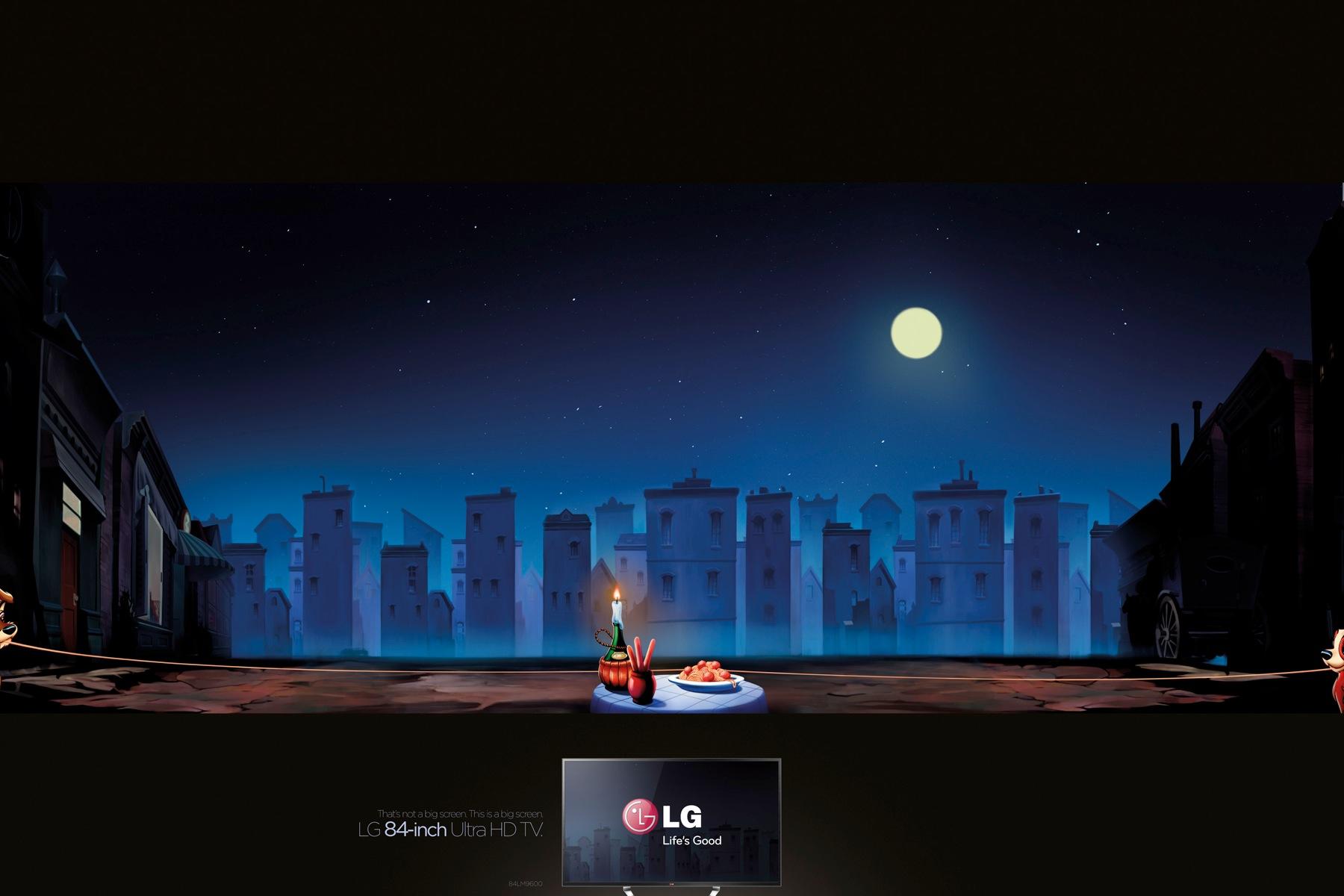 广告欣赏:lg 84寸高清电视机