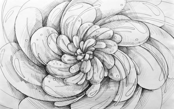 素描铅笔画 简单