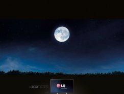 廣告欣賞:LG 84寸高清電視機