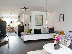 瑞典舒适温馨的简约风格公寓