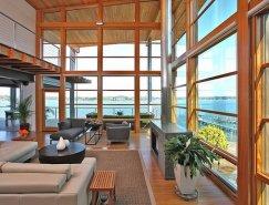 俯瞰Chesapeake湾美景的大气豪宅