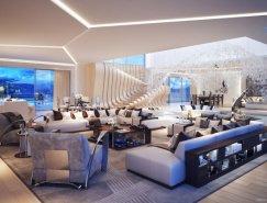 国外一组现代客厅设计