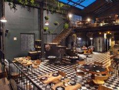 充满现代花艺的墨西哥特色餐厅:Romita Comedor