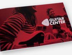 品牌设计欣赏:吉他中心(Guitar Center)